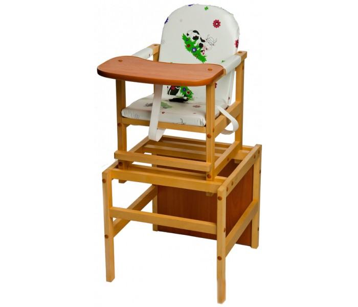 Стульчики для кормления ПМДК Октябренок стул трансформер для кормления октябренок ромашки зеленый