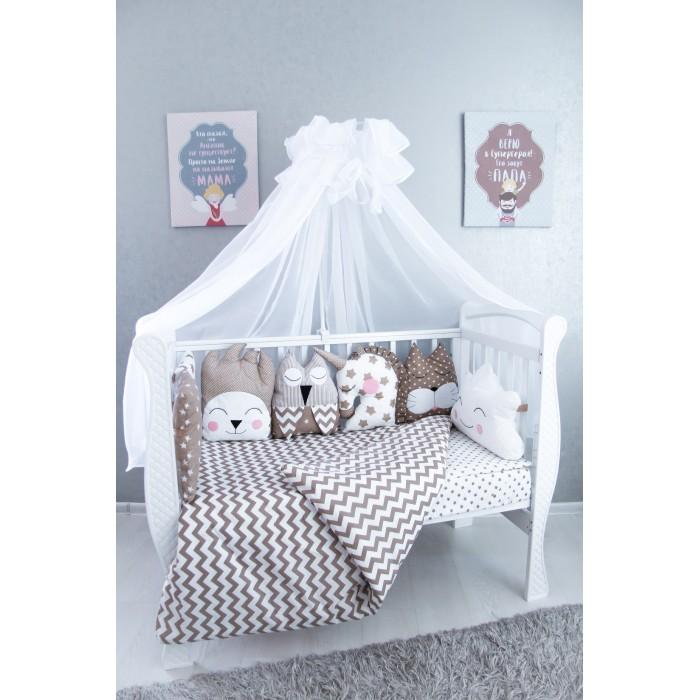 Комплект в кроватку Подушкино Буше (6 предметов)