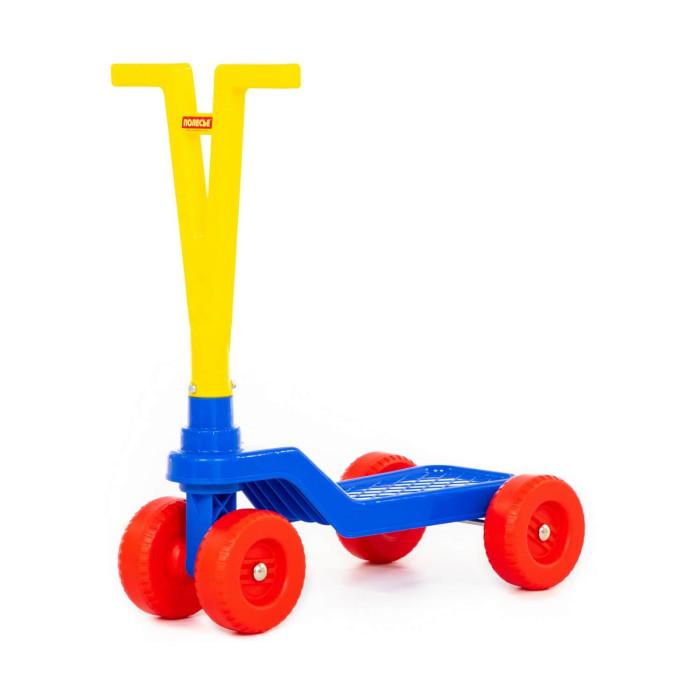Трехколесные самокаты Полесье Детский четырёхколёсный самокат