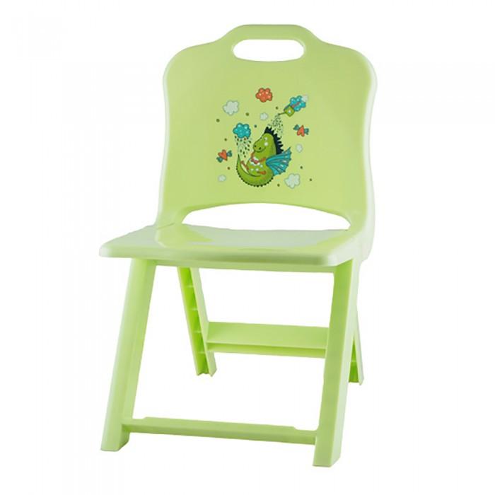 Пластиковая мебель Полимербыт Стульчик детский раскладной Joy