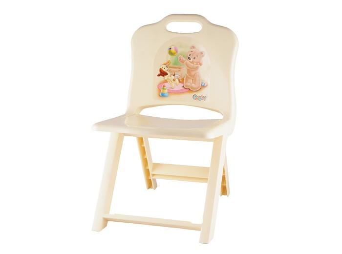 Пластиковая мебель Полимербыт Стульчик детский раскладной Polly