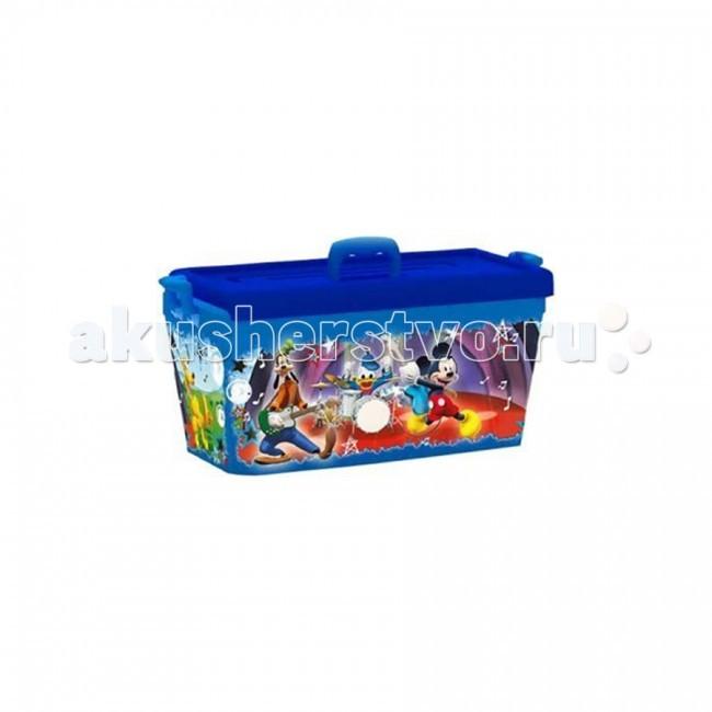Ящики для игрушек Полимербыт Ящик для игрушек 15 л Disney