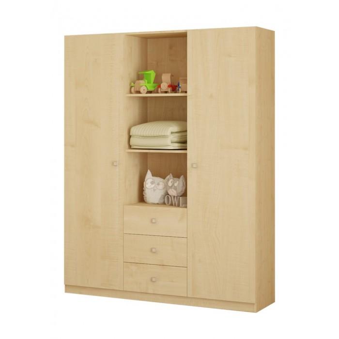 Шкафы Polini 3-х секционный Simple