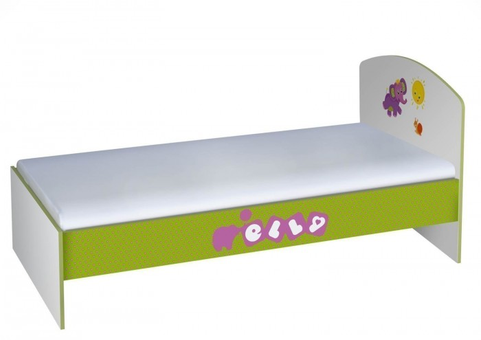 Купить Детские кроватки, Детская кроватка Polini Basic Elly 180х90 см