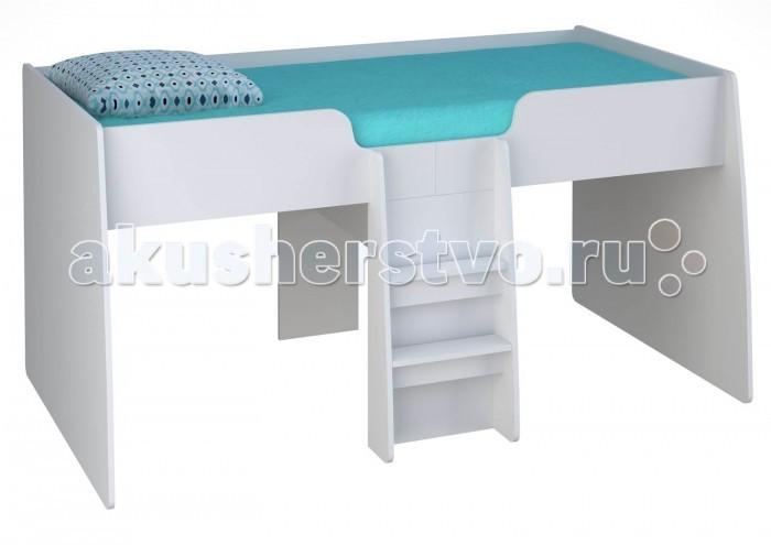 Кровати для подростков Polini чердак детская kids Simple 4100 с выдвижными элементами кровати для подростков капризун 2 чердак р436