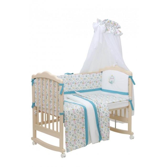 Постельные принадлежности , Комплекты в кроватку Polini Disney Последний богатырь лес (7 предметов) арт: 474951 -  Комплекты в кроватку