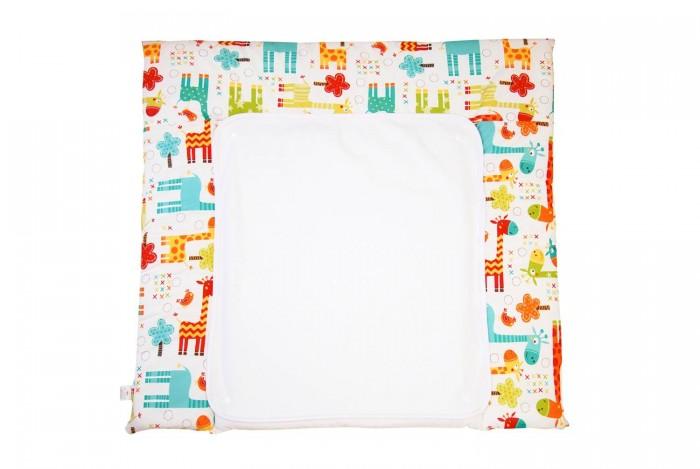 Детская мебель , Накладки для пеленания Polini Доска пеленальная двухсторонняя Жираф арт: 377334 -  Накладки для пеленания
