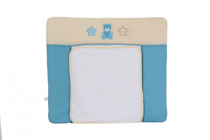 Детская мебель , Накладки для пеленания Polini Доска пеленальная на комод Плюшевые мишки 85х75 арт: 377309 -  Накладки для пеленания
