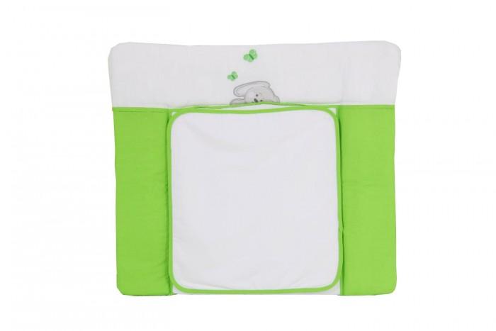 Детская мебель , Накладки для пеленания Polini Доска пеленальная на комод Зайки 85х75 арт: 377289 -  Накладки для пеленания
