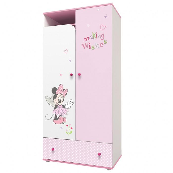 Шкаф Polini двухсекционный kids Disney baby Минни Маус-Фея