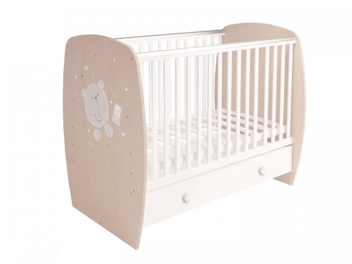 Детские кроватки Polini French 710 Teddy (ящик)