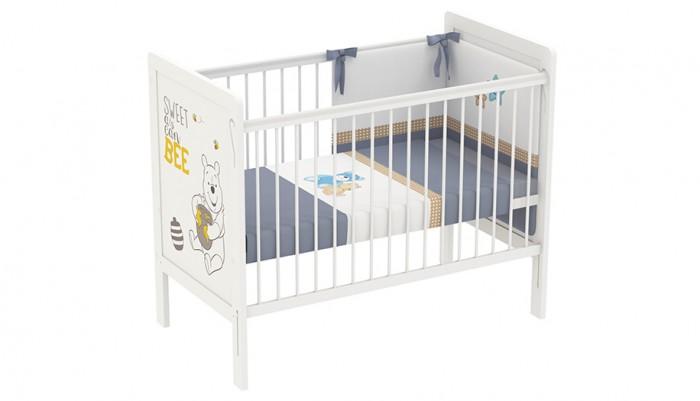 Купить Детские кроватки, Детская кроватка Polini kids Disney baby 220 Медвежонок Винни и его друзья