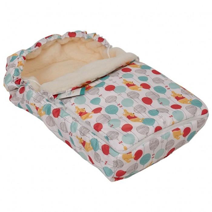 Купить Конверты для новорожденных, Polini Зимний конверт kids Disney baby Медвежонок Винни Чудесный день
