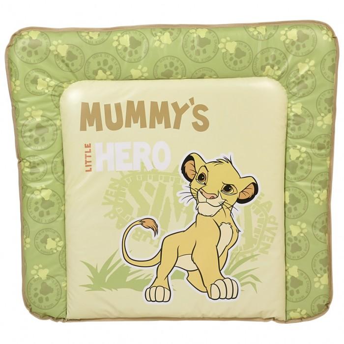 Накладки для пеленания Polini Kids Доска пеленальная мягкая Disney baby Король Лев доска пеленальная поворотная micuna cp 1199 plus 2 white beige bears