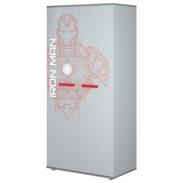Шкаф Polini kids двухсекционный Marvel 895 Железный человек