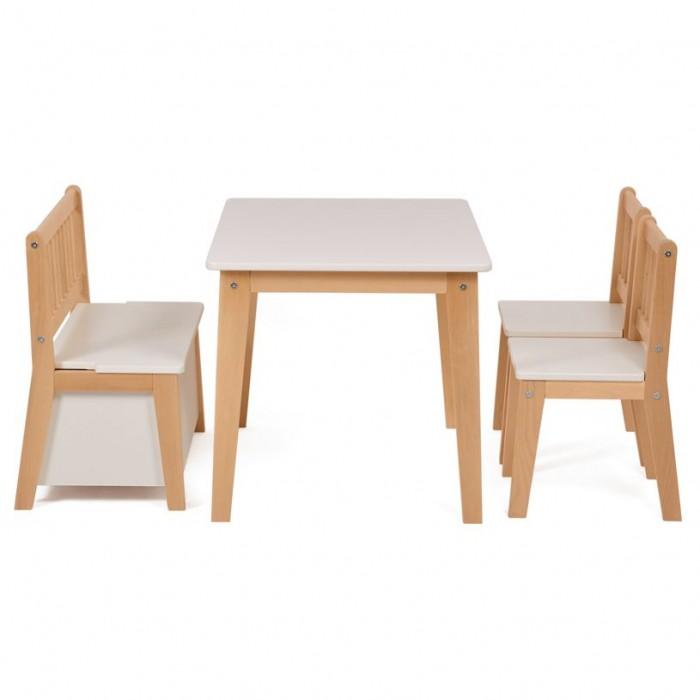 Детские столы и стулья Polini kids Комплект детской мебели Dream 195 M