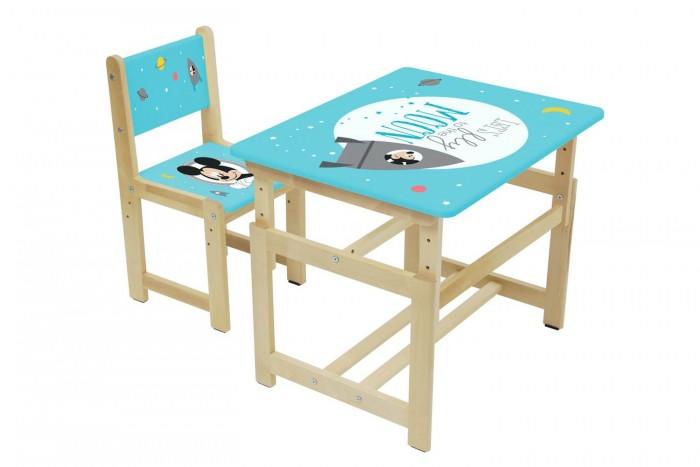 Polini kids Комплект растущей детской мебели Disney baby 400 SM Микки Маус