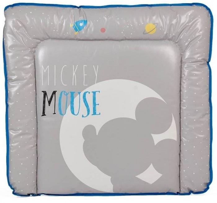Фото - Накладки для пеленания Polini kids Матрас для пеленания на комод Disney baby Микки Маус 77х72 накладки для пеленания polini kids матрас для пеленания на комод слоник 77х72