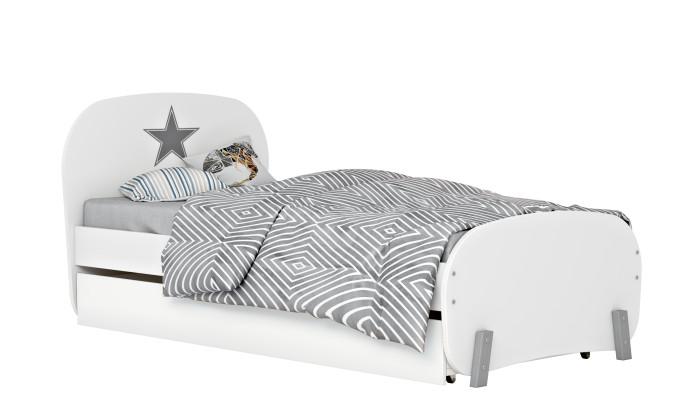 Купить Кровати для подростков, Подростковая кровать Polini kids Mirum 1915 c ящиком