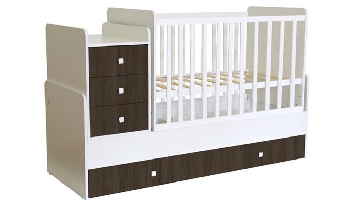 Купить со скидкой Кроватка-трансформер Polini Kids Simple 1111