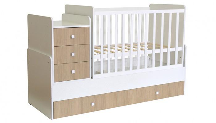 Купить Кроватки-трансформеры, Кроватка-трансформер Polini Kids Simple 1111