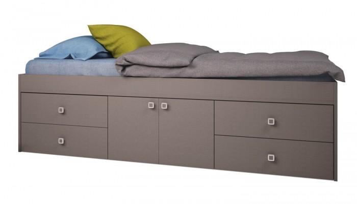 Кровати для подростков Polini kids Simple 3100 Н с 4 ящиками