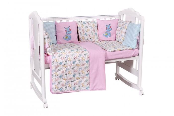 Купить Комплекты в кроватку, Комплект в кроватку Polini kids Собачки (5 предметов) 120х60 см