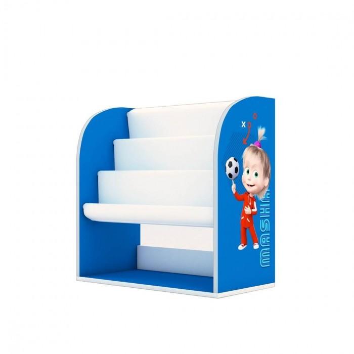 Шкафы Polini kids Стеллаж детский книжный Fun 800 Маша и Медведь