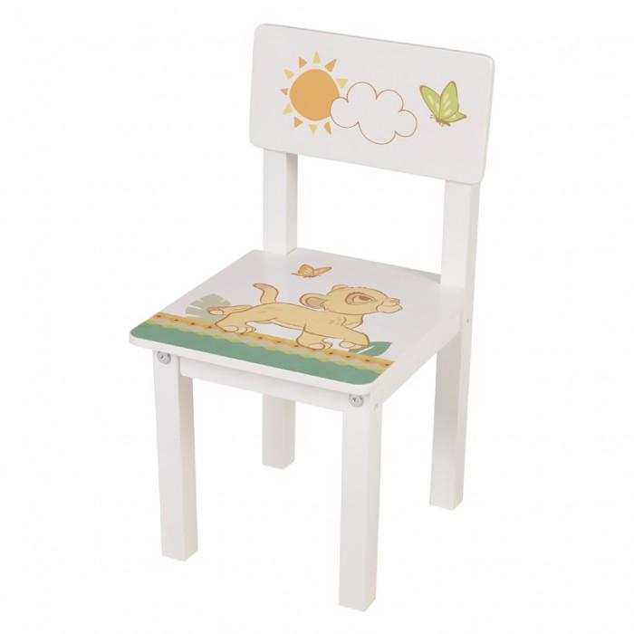Детские столы и стулья Polini kids Стул детский для комплекта детской мебели Disney baby 105 S Король Лев