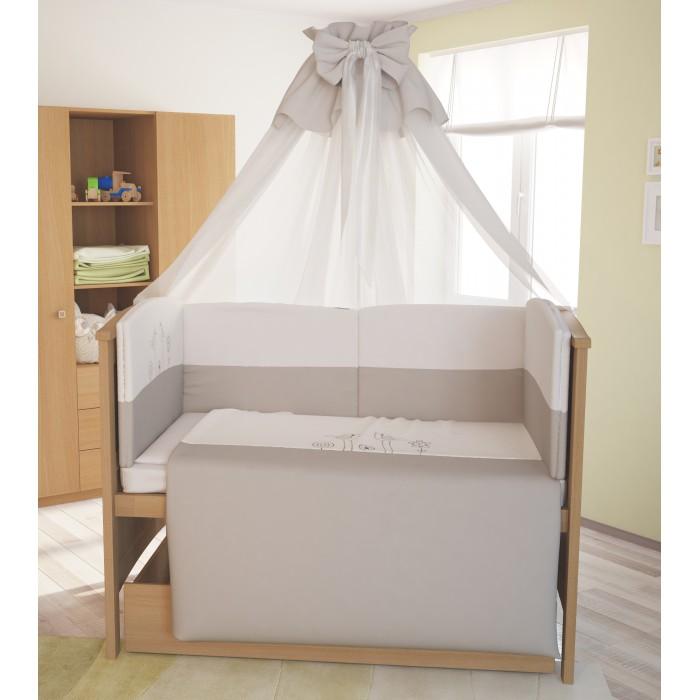 Купить Комплекты в кроватку, Комплект в кроватку Polini kids Волшебная полянка (7 предметов)