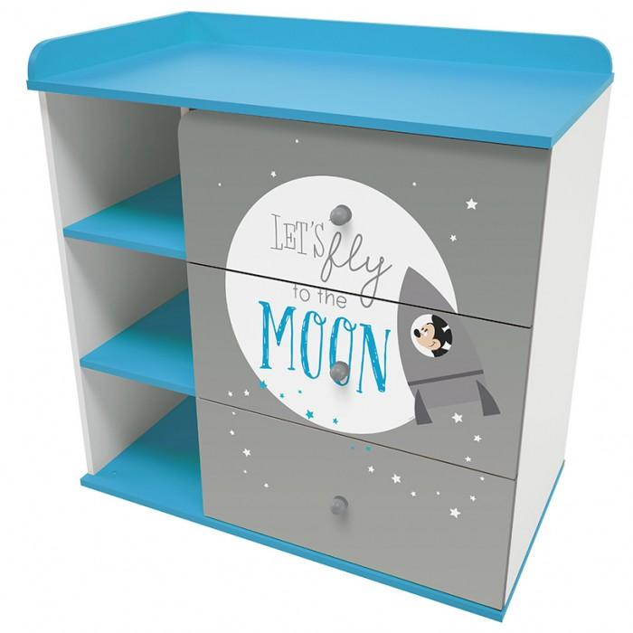 Комод Polini kids Disney baby 5090 Микки Маус с 3 ящиками
