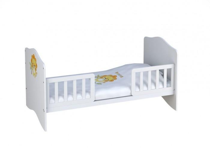 Барьеры и ворота Polini Комплект боковых ограждений для кровати Simple/Basic 140х70