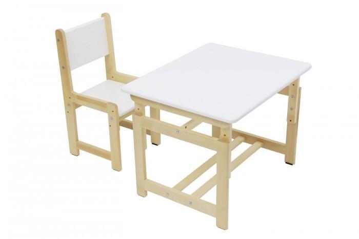 Polini Комплект детской мебели Eco 400 SMКомплект детской мебели Eco 400 SMКомплект детской мебели Polini Eco 400 SM растет вместе с малышом. Включает в себя стол и стул.   Преимущества: регулируется столешница, как в горизонтальное, так и в наклонное положение. можно использовать для кормления, так и для обучения ребенка три положения высоты мебель изготовлена из экологически чистых материалов. Габариты комплекта (ДхШхВ): стульчик – 32 х 33 х 64.4 см. высота сидения от пола 26/29.5/34 см.  столик - 55 х 68 высота растущая:46/52/58 см.<br>
