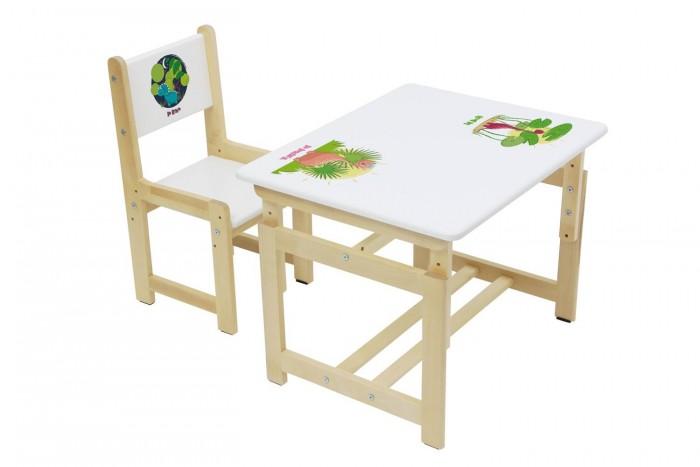 Детские столы и стулья, Polini Комплект детской мебели Eco 400 SM  - купить со скидкой