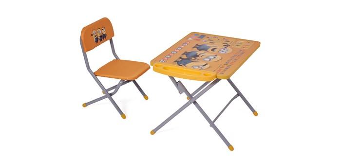 Детские столы и стулья Polini Комплект детской мебели kids 103 Гадкий я