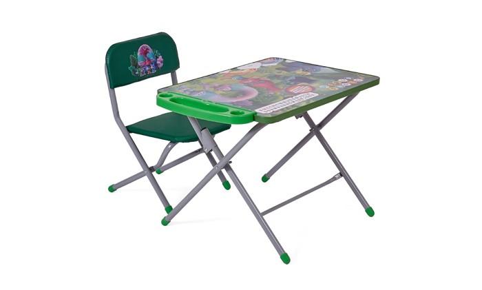 Детские столы и стулья Polini Комплект детской мебели kids 103 Тролли