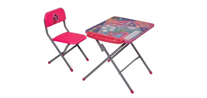 Купить Детские столы и стулья, Polini Комплект детской мебели kids 203 Тролли