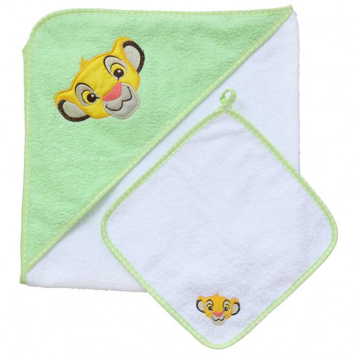 Полотенца Polini Комплект для купания kids Disney baby Король Лев 2 предмета