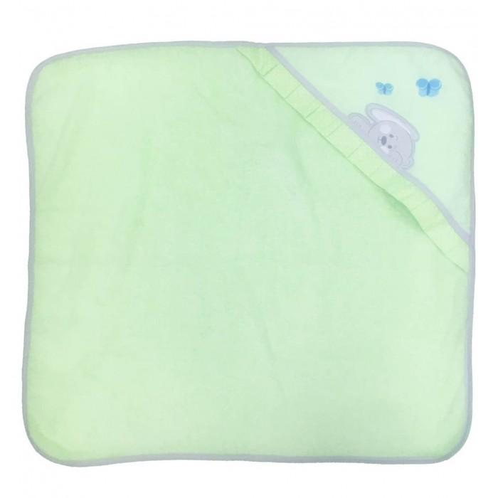 Купание малыша , Полотенца Polini Комплект для купания Зайки арт: 376459 -  Полотенца