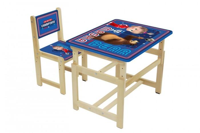 Polini Комплект растущей детской мебели Kids Fun 400 SM Маша и Медведь от Polini