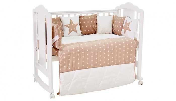 Комплекты в кроватку Polini kids Звезды (5 предметов) 120х60 см