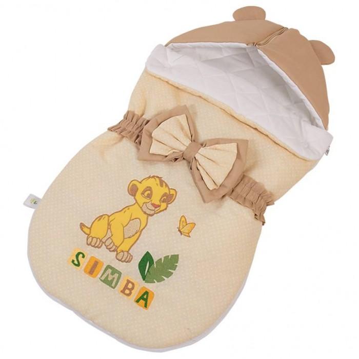 Конверты для новорожденных Polini Конверт демисезонный Disney baby Король Лев