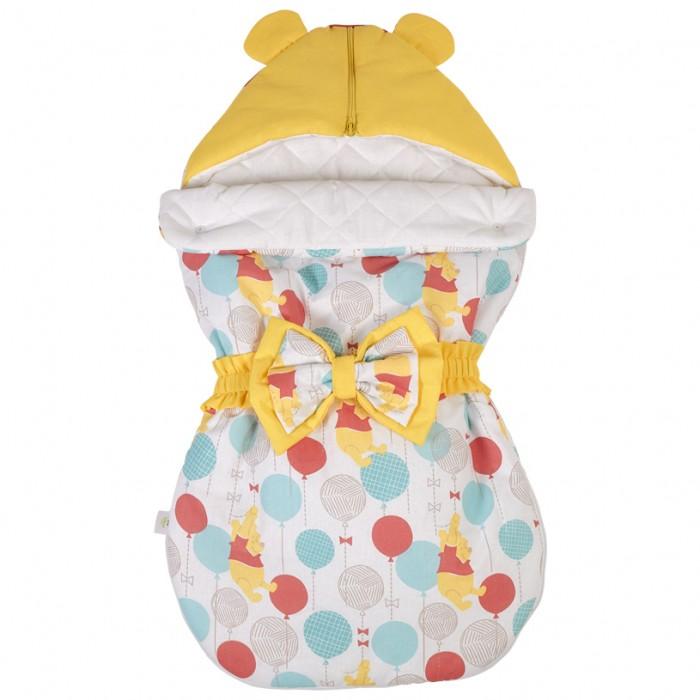 Конверты для новорожденных Polini Конверт демисезонный Disney baby Медвежонок Винни Чудесный день