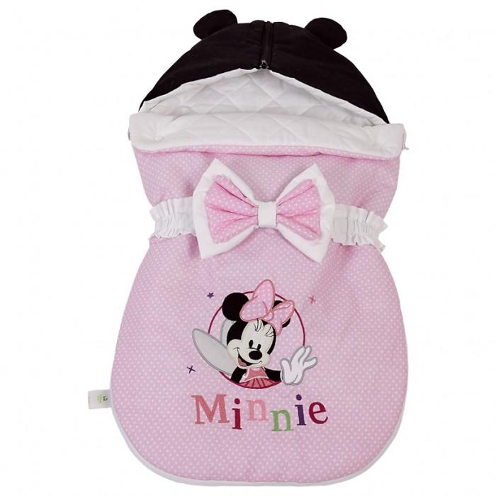 Конверты для новорожденных Polini Конверт демисезонный Disney baby Минни Маус Фея