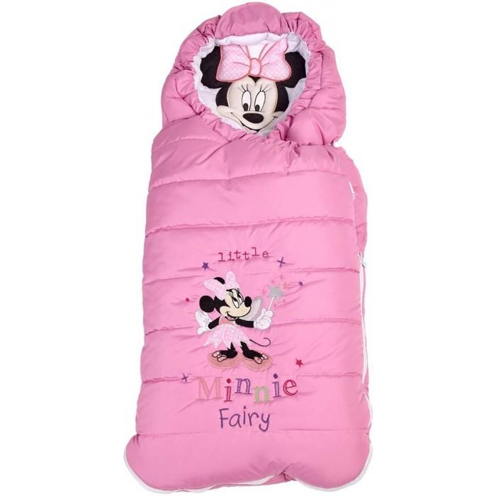 Купить Конверты для новорожденных, Polini Конверт утепленный Disney baby Минни Маус Фея