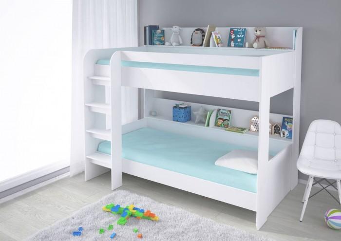 Кровати для подростков Polini 2-х ярусная kids Simple 5000 лестница приставная для кровати 2 х ярусной ривьера