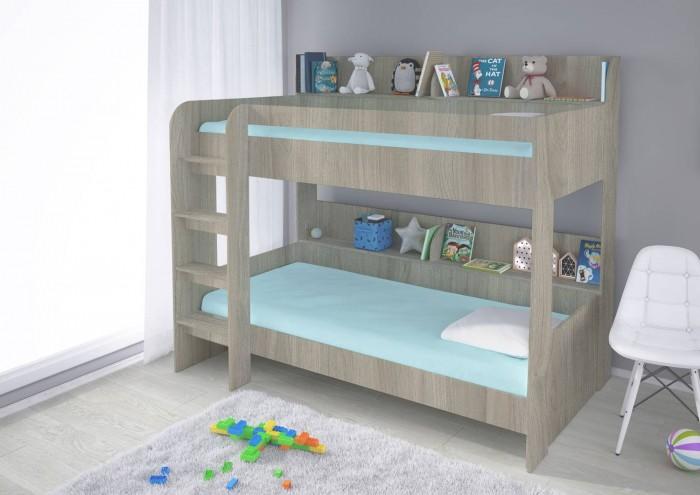 Купить Кровати для подростков, Подростковая кровать Polini 2-х ярусная kids Simple 5000