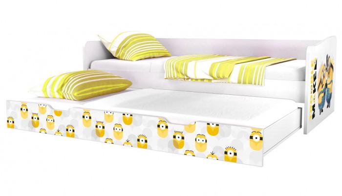 Картинка для Кровати для подростков Polini kids Fun 4200 Миньоны