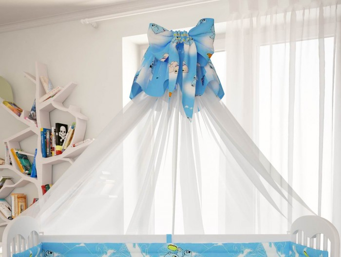 Балдахины для кроваток Polini Мишки