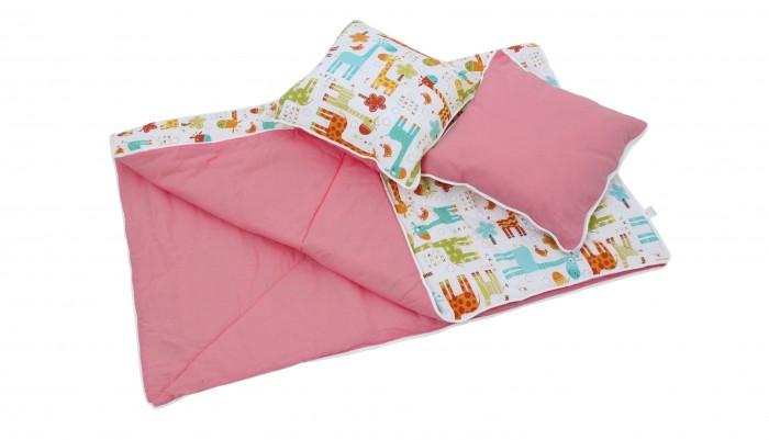 Палатки-домики Polini Одеяло и подушки для вигвама Жираф матрасы подушки и одеяла